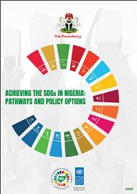 Cover: Nigeria's Integrated Sustainable Development Goals (iSDG) Model Report