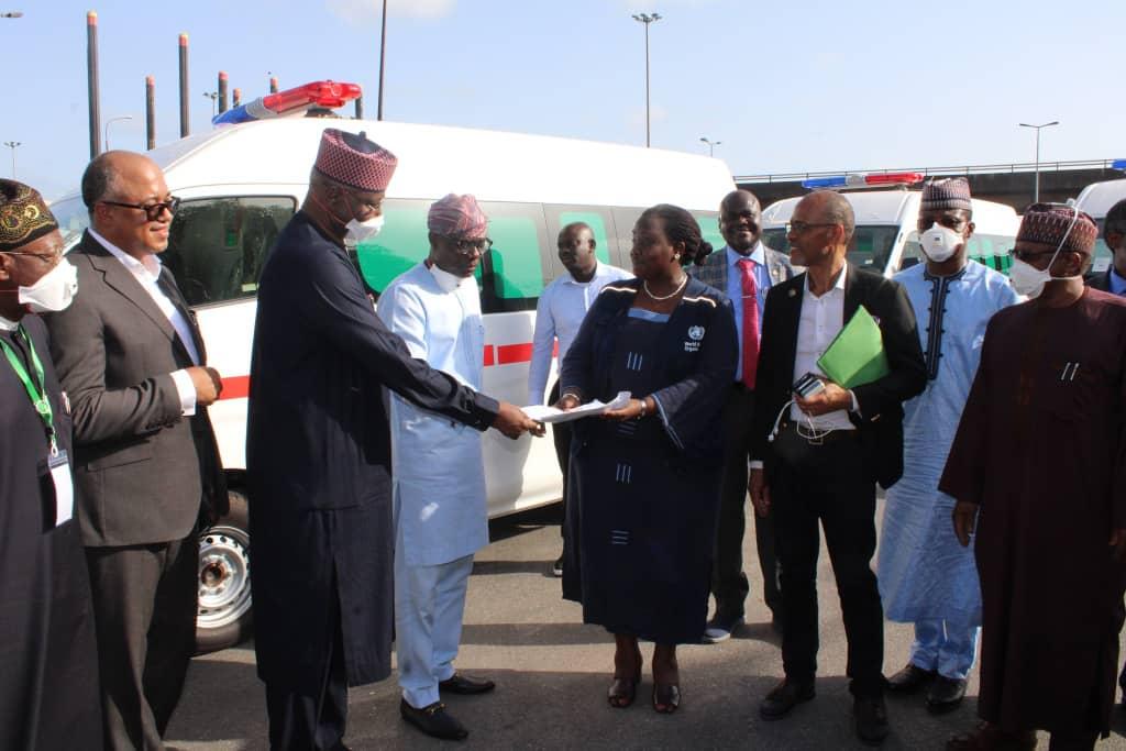 UN Nigeria donates Ambulances to Lagos, Reiterates Solidarity with Nigerian Government