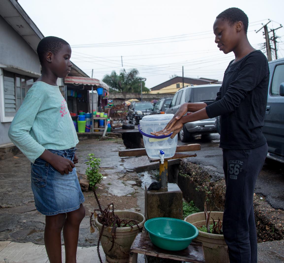 Empowering Children to Stem the Tide of Coronavirus in Lagos, Nigeria