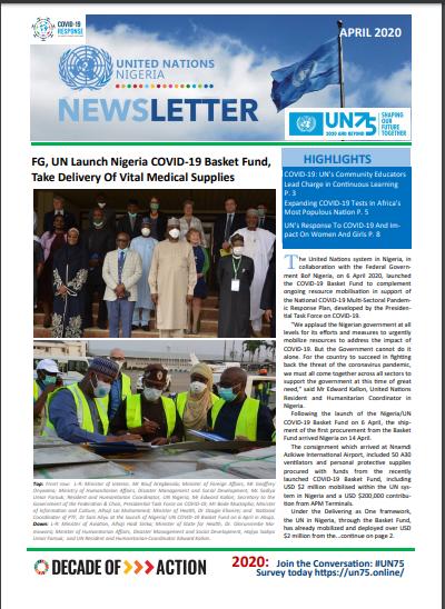 UN Nigeria Newsletter - April 2020