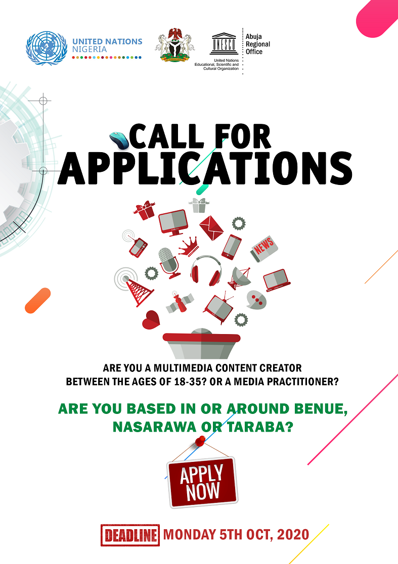 Integrated Approach to Building Peace in Nigeria's Herders-Farmers Conflict - Call for Applications – Shifting the Narrative through Peacebuilding Initiatives: Youth Creative and Media Engagement