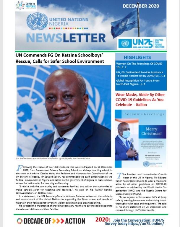 UN Nigeria Newsletter - December 2020