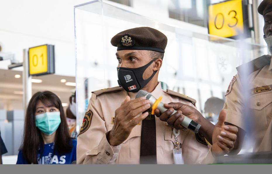 UN, Canada Hand Over MIDAS Equipment to Nigeria Immigration Service as International Travel Resumes