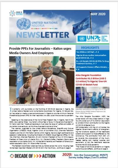 UN Nigeria Newsletter - May 2020