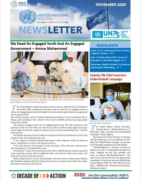 UN Nigeria Newsletter - November 2020