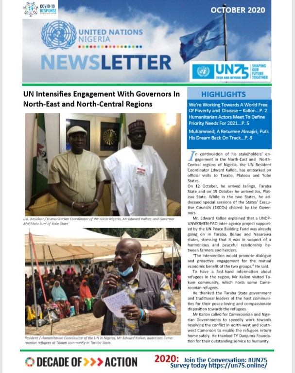 UN Nigeria Newsletter - October 2020