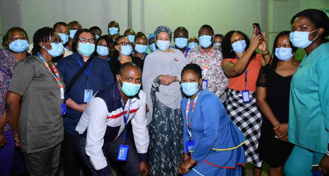 Women On The Frontlines Of COVID-19: Spotlight On Women Health Workers In The UN SARI Treatment Centre