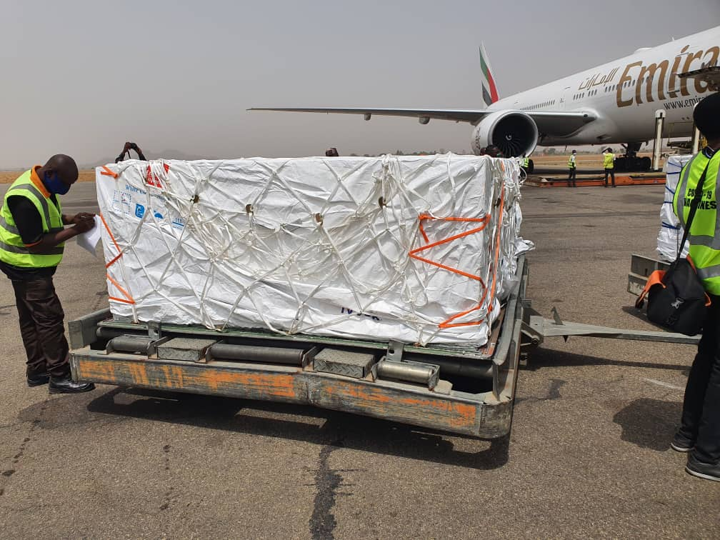 COVID-19 Vaccines Shipped By COVAX Arrive In Nigeria