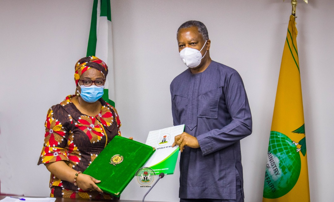 UNOPS, Government of Nigeria Sign Host Country Agreement