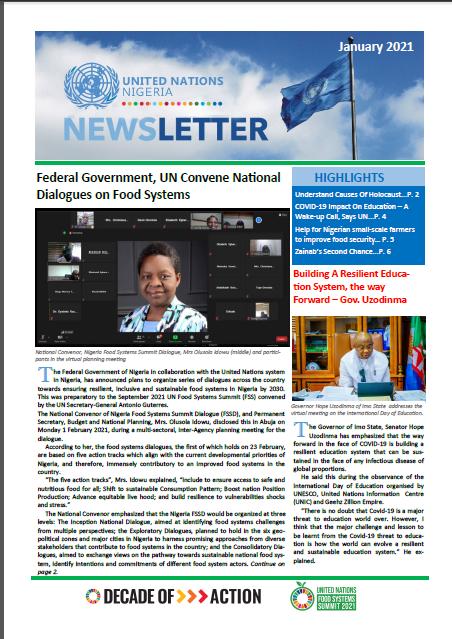 UN Nigeria Newsletter - January 2021