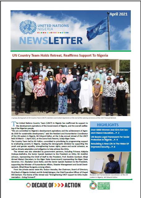 UN Nigeria Newsletter - April 2021