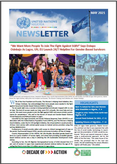 UN Nigeria Newsletter - May 2021