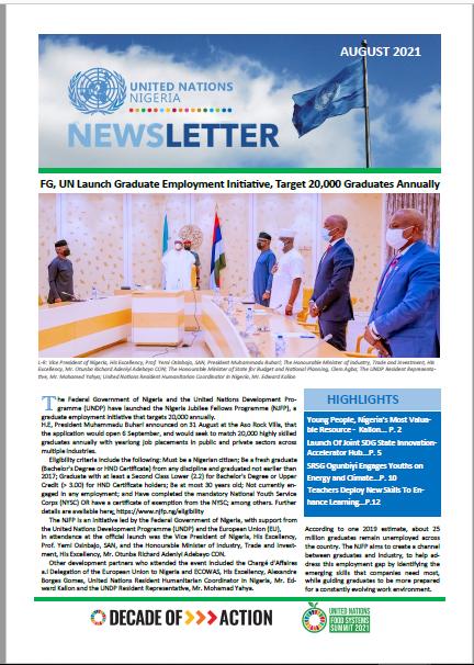 UN Nigeria Newsletter - August 2021