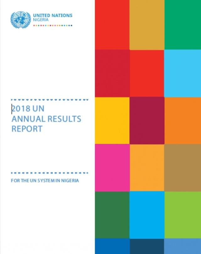 2018 Annual Results Report Cover