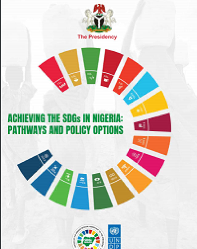 Cover: Nigeria's Integrated Sustainable Development Goals (iSDG) Model Report